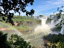 The magnificent Iguazu Falls Argentinian side