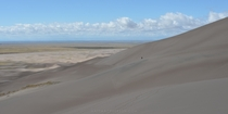 The magnitude of Great Sand Dunes National Park