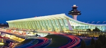 The Main Terminal at Washington Dulles International Airport