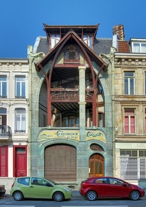 The Maison Coilliot Coilliot House is an Art Nouveau house located in Lille France designed by Hector Guimard and completed in