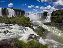 The majestic Iguacu Falls of Brazil  photo by Bar Artzi