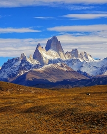 The Majestic View of Mount Fitz Roy  IG GiorgioSuighi