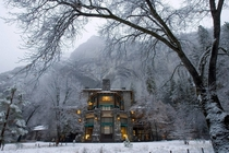 The ahwahnee hotel dining room