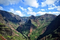 The majesty of Waimea Canyon Kauai
