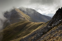 The Mamores Scotland  by Jonathan Wood