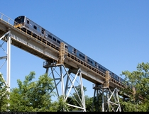 The Manhasset Viaduct of the Long Island Rail Roads Port Washington Branch
