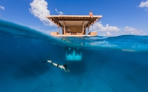 The Manta Underwater Room Located in Pemba Island Tanzania  x-post from rTravel_HD