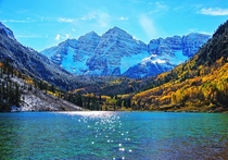 The Maroon Bells Aspen Shot two summers ago