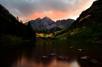 The Maroon Bells at sunrise never cease to amaze
