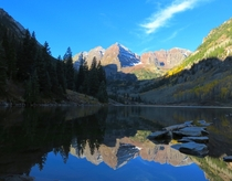 The Maroon Bells CO
