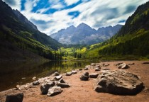 The Maroon Bells in Aspen Colorado