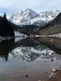 The Maroon Bells never cease to amaze Aspen CO