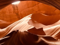 The marvel of Antelope Canyon OC
