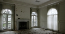 The Master Bedroom in an Abandoned Mansion