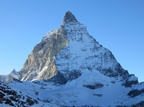 The Matterhorn from a less-popular angle