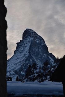 The Matterhorn in Zermatt Switzerland is honestly majestic