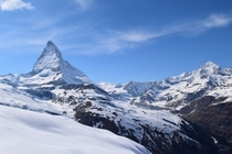 The Matterhorn near Zermatt Switzerland