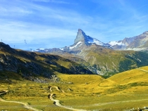 The Matterhorn Zermatt Switzerland  x
