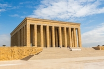 The Mausoleum of Father of Turks Mustafa Kemal Atatrk Ankara Turkey
