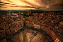 The medieval beauty of Siena heart of Tuscany Italy