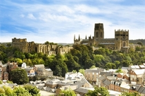 The medieval city of Durham in North-East England