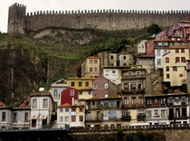 The medieval city wall of Porto Portugal  Photographed by Neil King