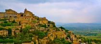 The medieval hill town of Gordes France