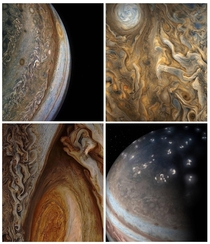 The mesmerizingly hypnotic patterns of storms and clouds on Jupiter