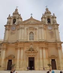 The Metropolitan Cathedral of St Paul Mdina Malta