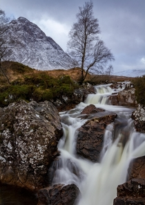 The mighty Buachaille Etive Mor Highlands of Scotland