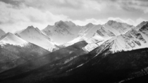 The mighty mountains of Banff Alberta Canada