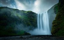 The Mighty Skogafoss Iceland