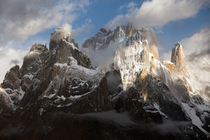 The Mighty Trango Towers Karakoram Pakistan  By Hansol
