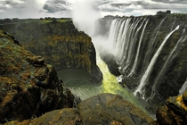 The mighty Victoria Falls  by Aubrey Stoll