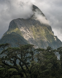 The Milford Sounds Mitre Peak New Zealand  kanyeweist