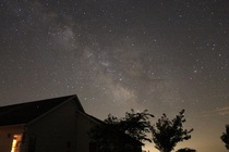 The Milky Way above my parents house