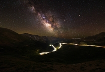 The Milky Way from Loveland Pass CO