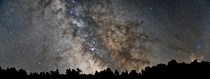 The Milky Way from Pyrenes France