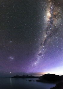 The Milky Way over Tasmania  By Nik DC