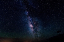 The Milky Way over the Very Large Array in Magdalena NM