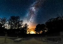 The Milky Way over Truro MA United States
