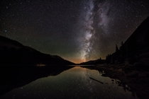 The Milky Way over Yosemite National Park  Photographed by Rodney Lange
