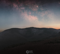 The Milky Way rising above the Light Pollution from NYC as captured from a lovely Catskills hike this past weekend