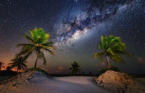 The Milky-way seen from Mangue Seco Brazil