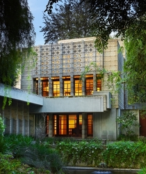 The Millard House Designed by Frank Lloyd Wright