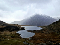 The Misty Mountains Cold - Snowdonia Wales UK OC  x