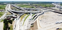 The Mixmaster Interchange Between Interstates  and E- Dallas