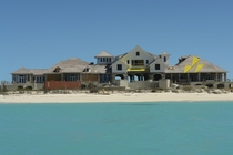The Molasses Reef in the Turks and Caicos was a new resort development that ceased construction when Lehman Brothers collapsed in