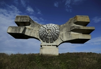 The Monument to the Revolution of the People of Moslavina in Podgari Croatia constructed   x-post rCroatiaPics