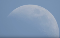 The moon and Aldebaran - Daylight occultation